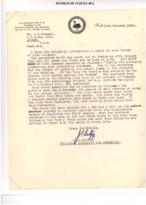 250127 G-AUDF Onslow Fire Letter