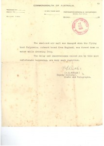 381127 Calpurnia Sutton to NSW Letter from GPO