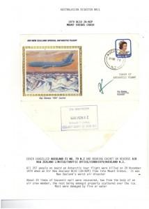 791129 ZK-NZP Mt Erebus Crash